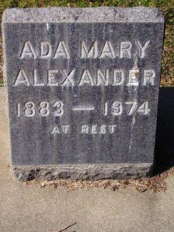 Ada Mary Alexander
