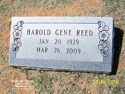 Harold Gene Reed
