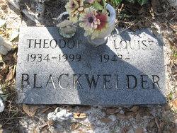 Theodore Louis Blackwelder