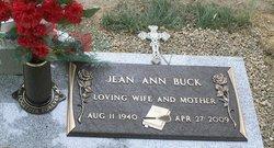 Jean Ann <i>Robinson</i> Buck