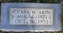 Clara M Akin