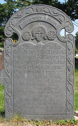 Rev James Morton