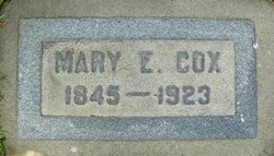 Mary Elizabeth <i>Sherman</i> Cox