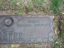 Harry LaVerne Carter