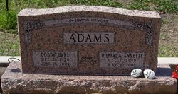 Roberta Annette <i>Wallace</i> Adams