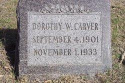 Dorothy Winifred <i>Holmes</i> Carver