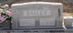 Berry Champion Bailey