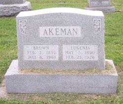 Eugenia Brown <i>Stidham</i> Akeman
