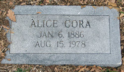 Alice Cora <i>Wilkinson</i> Woolfolk