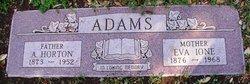 A Horton Adams