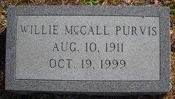 Willie McCall <i>King</i> Purvis