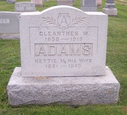 Cleanthes W. Adams