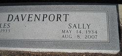 Sally <i>McEVER</i> Davenport