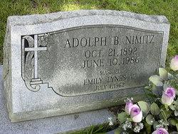 Adolph B Nimitz