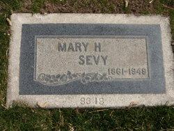 Mary Hannah <i>Heywood</i> Sevy