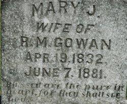 Mary Jane <i>McFarland</i> Gowan