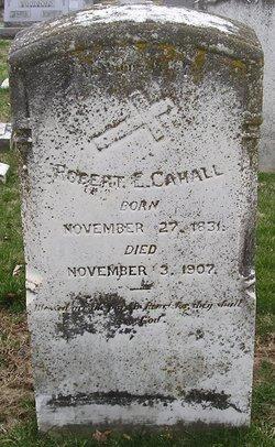Robert E Cahall