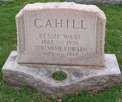 Bessie <i>West</i> Cahill