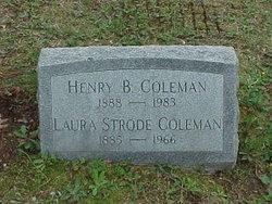 Laura Josephine <i>Strode</i> Coleman