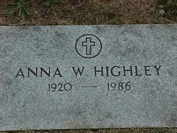 Anna <i>Worthington</i> Highley