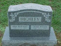 Jessie Walker Highley
