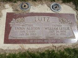 Emma Amelia <i>Alston</i> Lutz