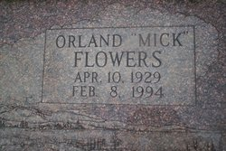 Orland Dean Mick Flowers