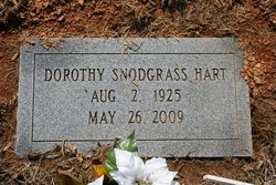 Dorothy <i>Snodgrass</i> Hart