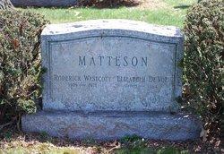 Roderick Westcott Matteson