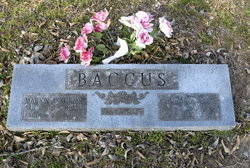 Liddie Alberta <i>Yount</i> Baccus