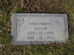 Lonzo Wayne Ballow