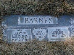 Larry W Barnes
