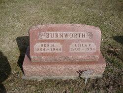 Benjamin Harrison Ben Burnworth