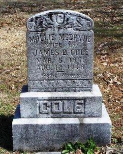 Mollie <i>McBryde</i> Cole