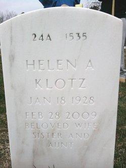 Helen <i>Sanitch</i> Klotz
