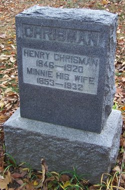 Minnie <i>Hugo</i> Chrisman