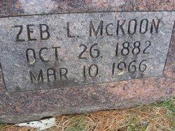 Zebelon Leavenworth McKoon