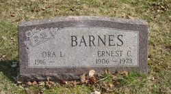 Ernest C Barnes