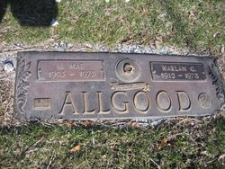 A. Mae Allgood