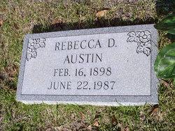 Rebecca <i>DeHay</i> Austin