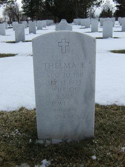 Thelma E <i>Housden</i> Brown