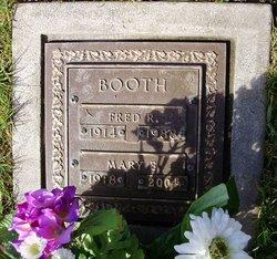 Mary E. <i>Horton</i> Booth
