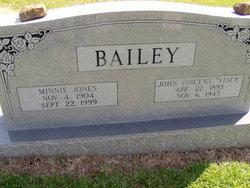 Minnie Dorothy <i>Jones</i> Bailey