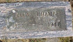 Elvira Ella <i>Ackley</i> Champ