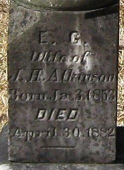 Ella Gertrude <i>Miller</i> Atkinson