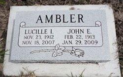 Lucille Isabelle <i>Moore</i> Ambler