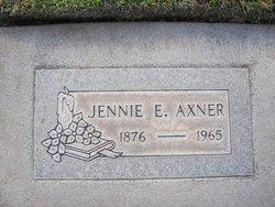 Jennie E Axner