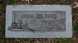Zenda Zoe Riggs