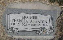 Theresa <i>Allred</i> Eaton