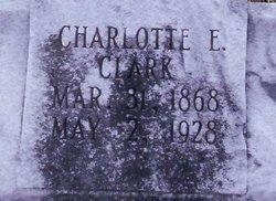 Charlotte E Lottie Clark